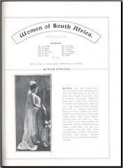 Women of South Africa 1913 Cover
