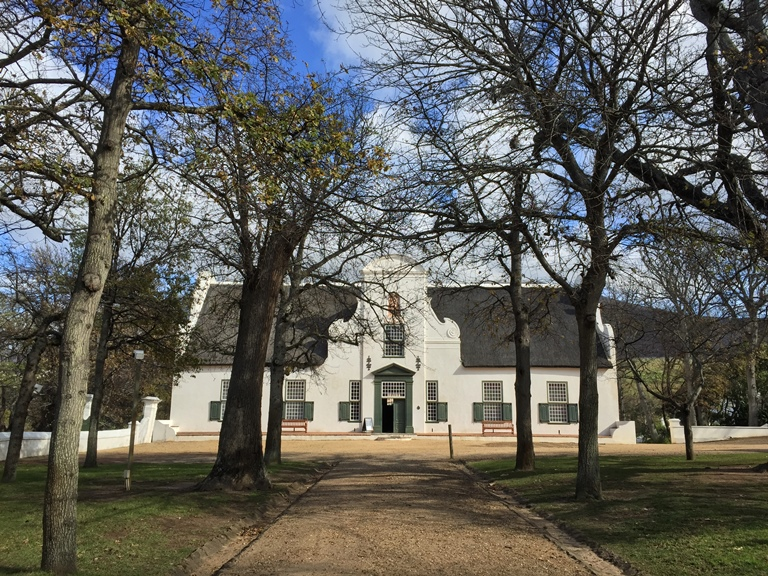 Groot Constantia - photo by Sharon Warr 2015